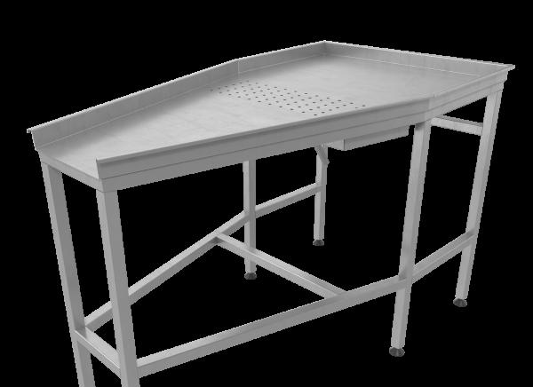 Стол для стекания рассола после инъектора СЯ-01